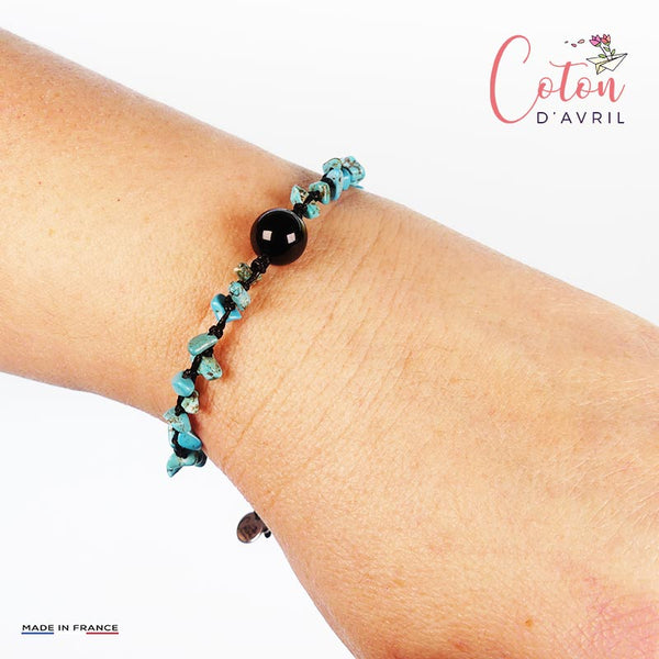 Bracelet Garrigues Turquoise Agate