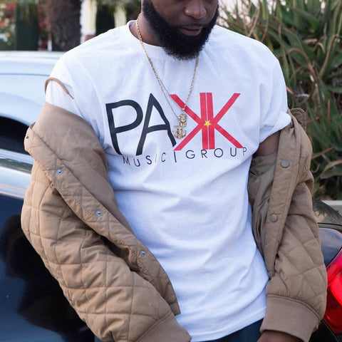 Pakk Music T-Shirt - White