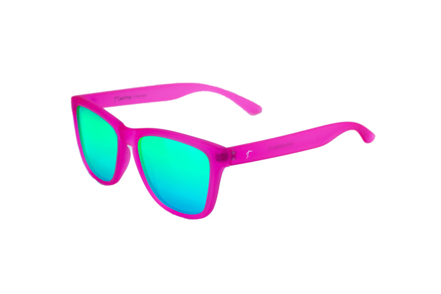 women's running sunglasses. Rose/ Green mirrored lens sunglasses. polarized sunglasses. sunglasses for women and men