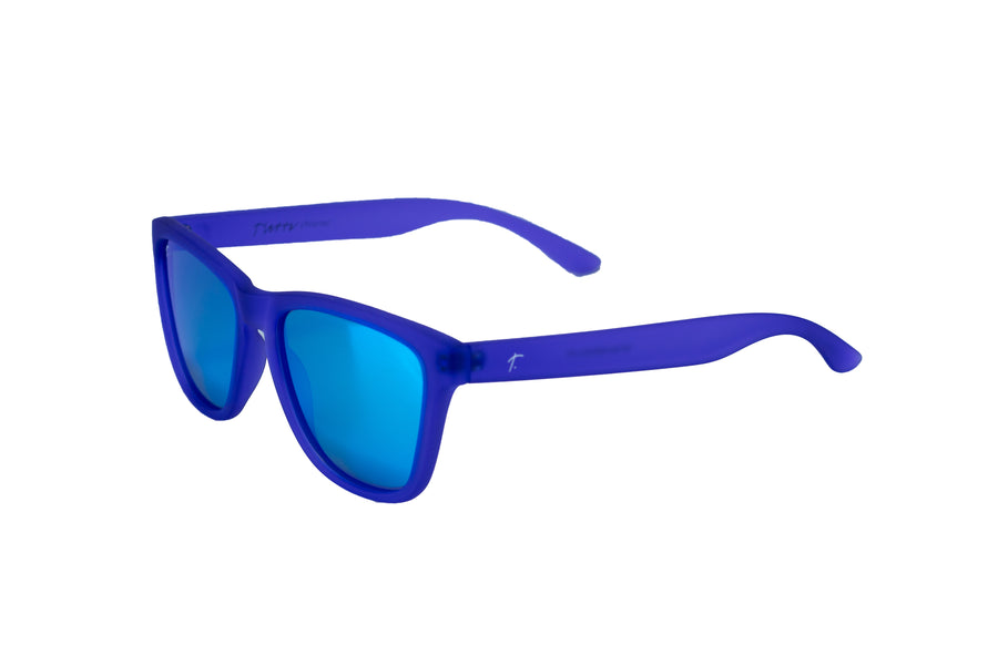 women's running sunglasses. purple/ blue mirrored lens sunglasses. polarized sunglasses. sunglasses for women and men