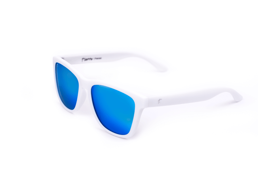 Running Sunglasses. Polarized Sunglasses for women and men. Blue frame/ Blue mirror lens. sunglasses for runners