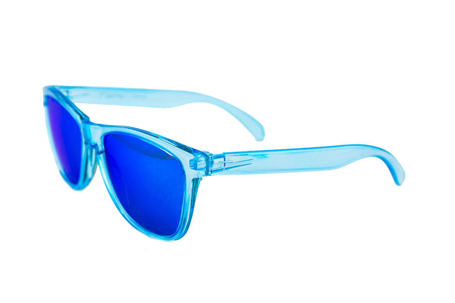 Tierra Running Sunglasses - Polarized sunglasses for women/men. Blue frame/ Blue lens. sunglasses for runners