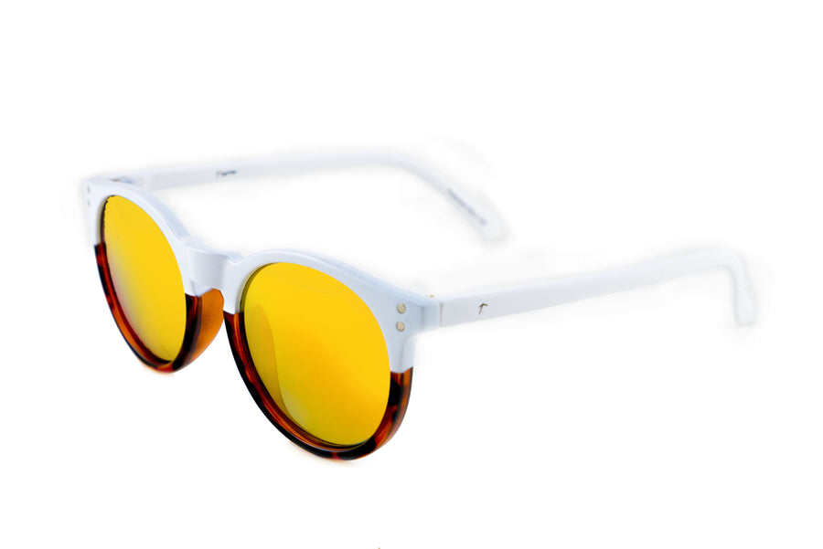 white round sunglasses. tortoise shell sunglasses. polarized sunglasses