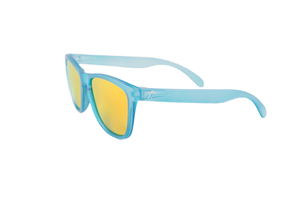 running sunglasses. polarized sunglasses for runners. sunglasses for women/men. blue mirrored lens