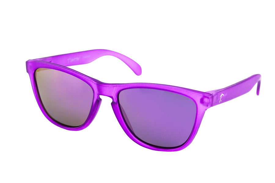 running sunglasses. Polarized sunglasses for women/men. Purple frame/ Purple lens