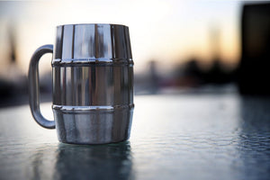 Double Walled Stainless Steel Custom Mug