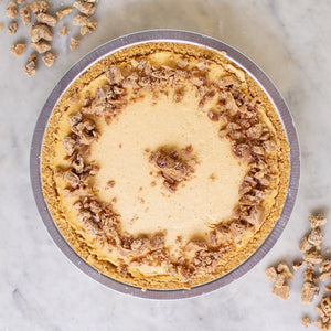 "10"" Pumpkin Cream with Pecan Praline"