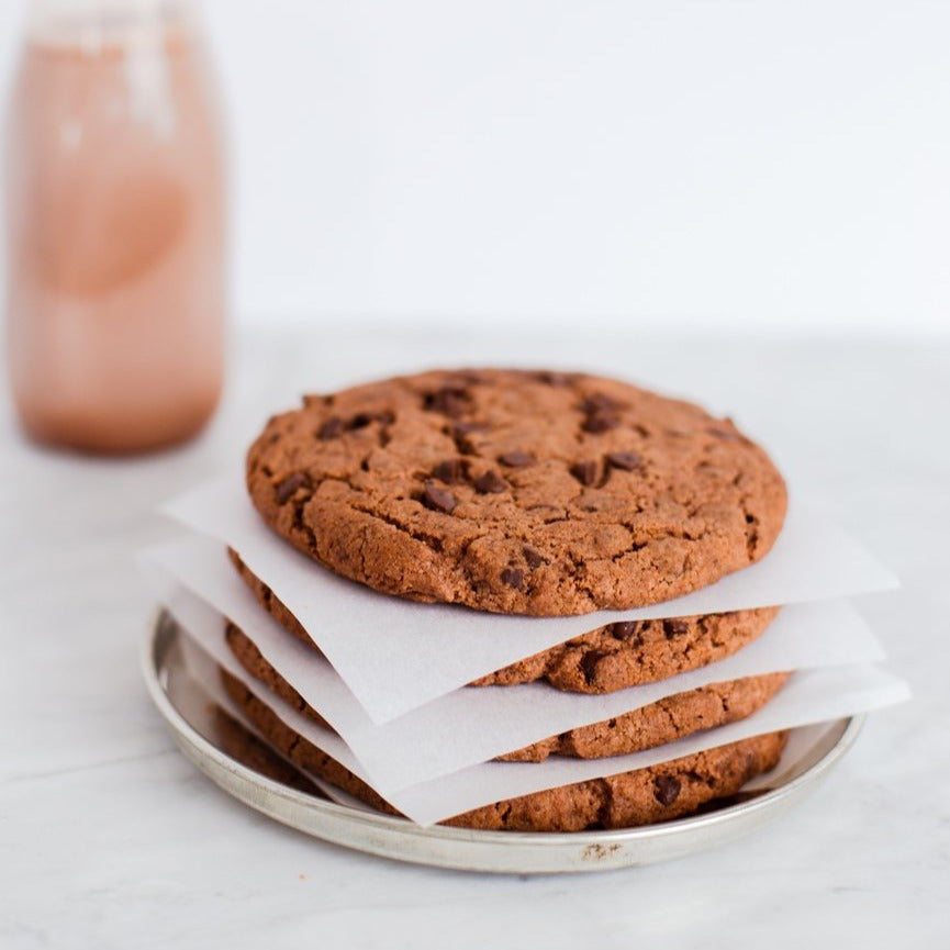 4pk Double Chocolate Cookies (GF/V)