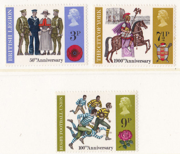 1971 British Anniversaries