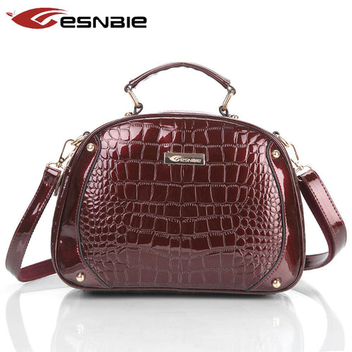 New Luxury Messenger Bags Female Designer Leather Handbags High Quality