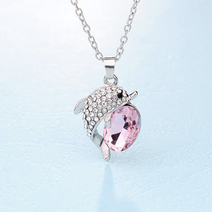 Beautiful Dolphin Rhinestone Crystal Pendants