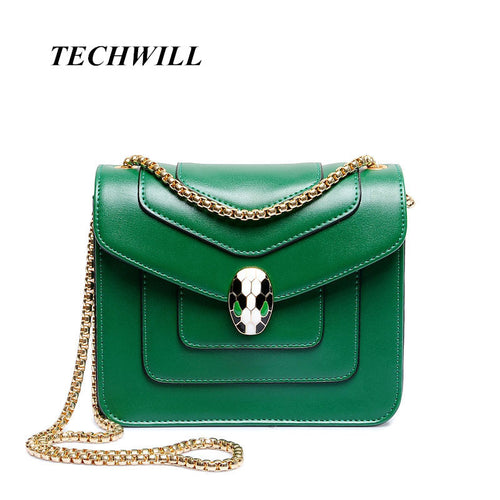 Personality Snake Lock Decoration Women handbag. Luxury Evening Party Clutch Leather Bag Alligator