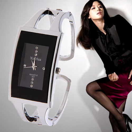 Luxury Crystal Bracelet Women's Watch. Full Steel Ladies Watch Women Watch.