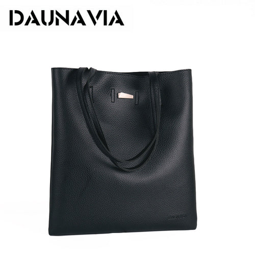 DAUNAVIA bags pu leather messenger shoulder handbags