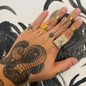 Stylist Loft Imperfect Half Rings by Natalia Collazo
