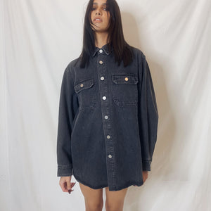 """aileen"" denim jacket dress"