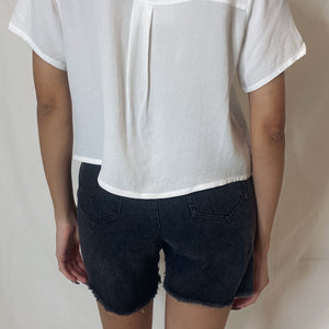 """aileen"" denim shorts"