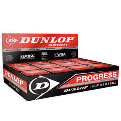 1 Dozen Dunlop Progress Squash Balls