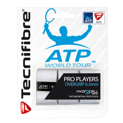 Tecnifibre Pro Players 0.5mm Overgrips Pack of 3