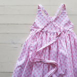 Anne Maree Dress in Pink Gingham