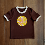 Here Comes the Sun Ringer Tee