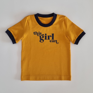 This Girl Can Ringer Tee