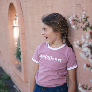 Wildflower Ringer Tee