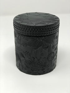 BLACK LUXURY LOTUS FLOWER CANDLES
