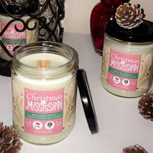 Christmas on the Mississippi Wood Wick Candle