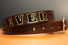Buy TWO Get One FREE Custom Leather Belt- SALE!