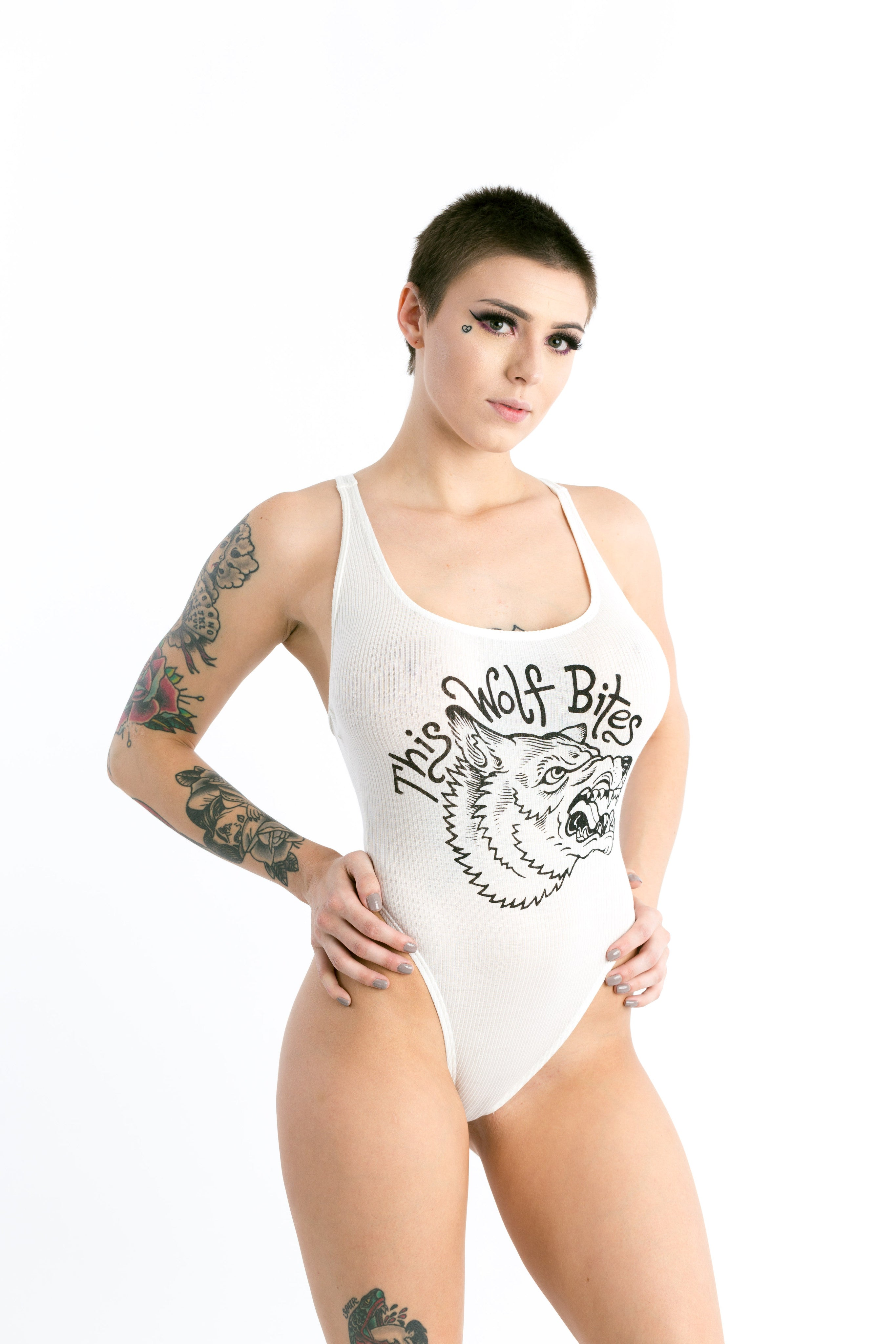 White Wolf Bodysuit