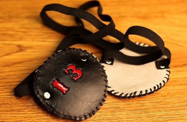 Custom Leather Eye Patch