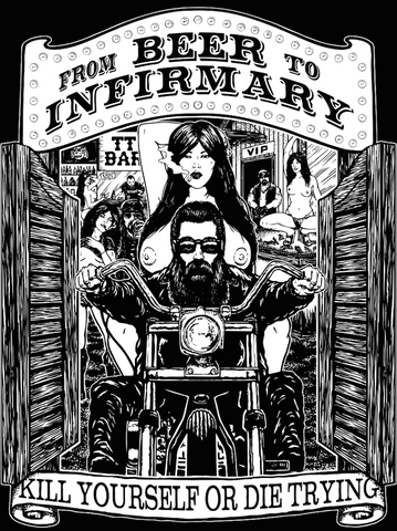 From Beer To Infirmary Men's Tee