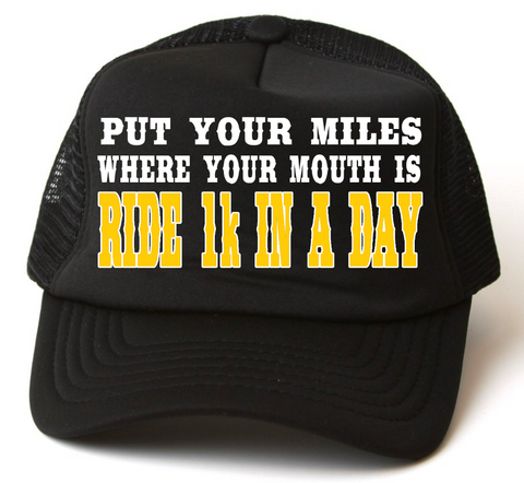 RIDE 1k IN A DAY 2016 HAT