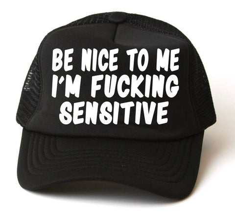 Be Nice To Me Hat