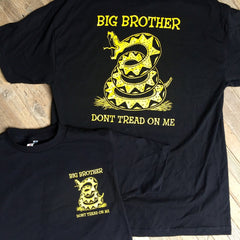 Big Brother Don't Tread On Me Tee