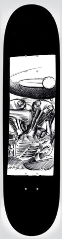 Knucklehead Deck- Black