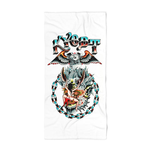 Speed Demon Beach Towel