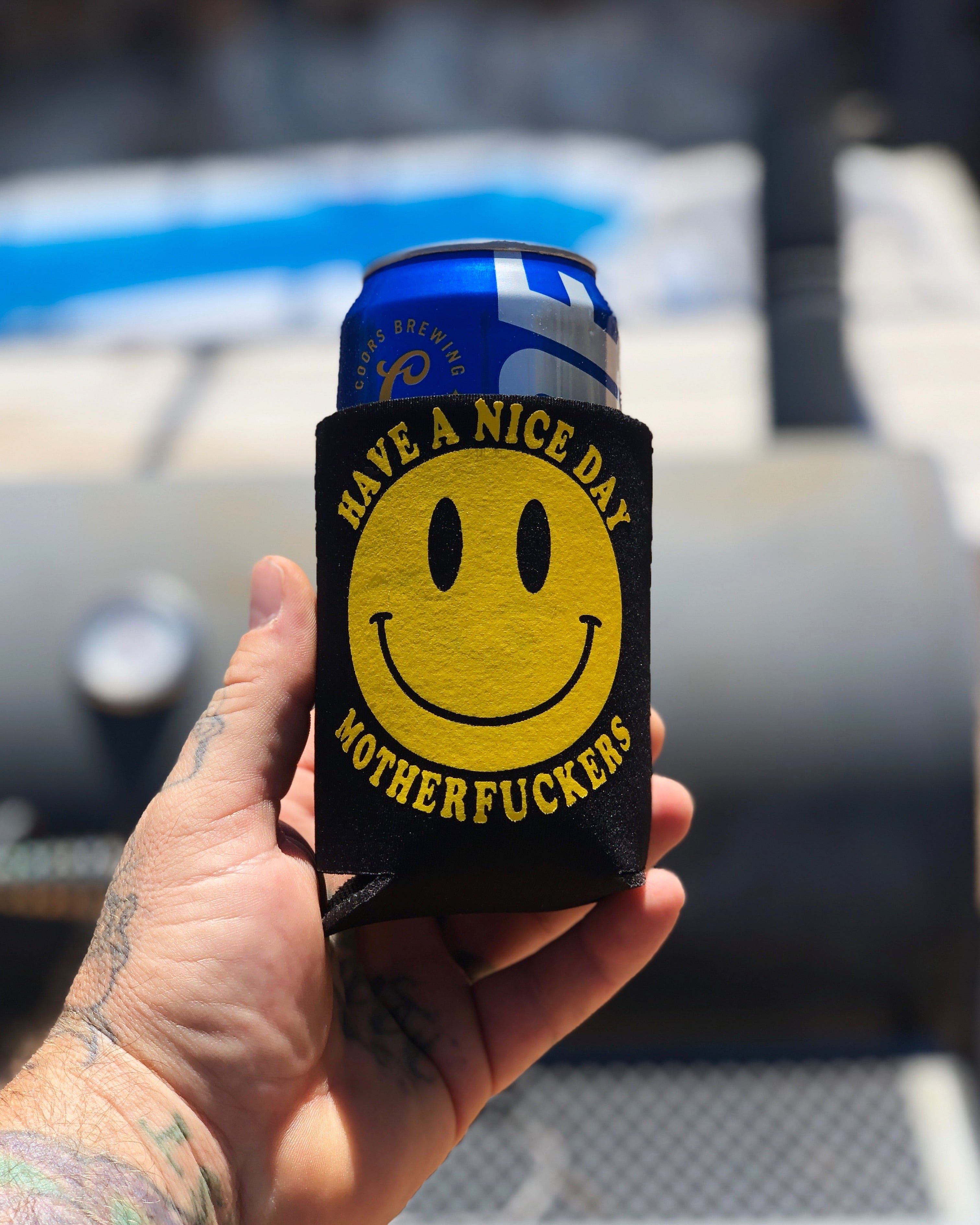 Have a Nice Day Koozie