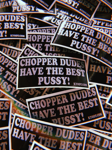 Chopper Dudes Sticker