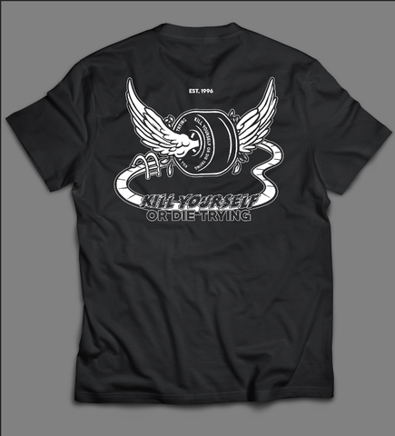 Pool Party Winged Wheel Men's Tee (limited run)