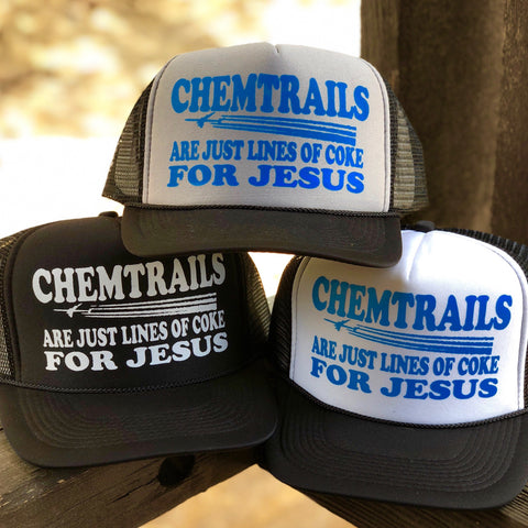 Chemtrails for Jesus Hat