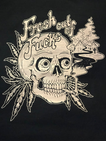 Fresh Outta Fucks Mens Tee