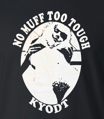No Muff Too Tough Men's Tee- CLEARANCE!