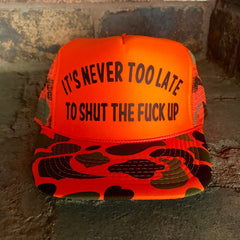 Never Too Late Hat