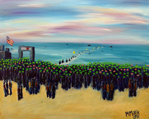 Ironman Florida Swim Start