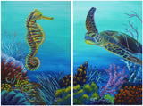 Coal Reef : Pair of Prints