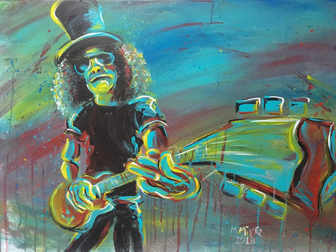 Slash - Original Painting