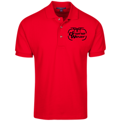Black Logo Drone Wear Polo Shirt - Drone Wear