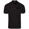 Image of Black Logo Drone Wear Polo Shirt - Drone Wear
